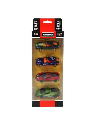 Машина металлическая HOFFMANN. Цвет: черный, зеленый