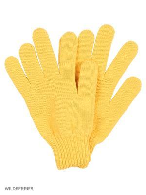 Перчатки Vittorio Richi. Цвет: горчичный