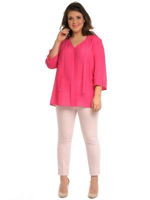 Блузка SVESTA. Цвет: розовый