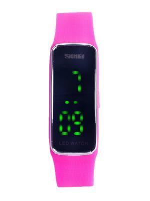 Часы SKMEI. Цвет: черный, розовый, серебристый