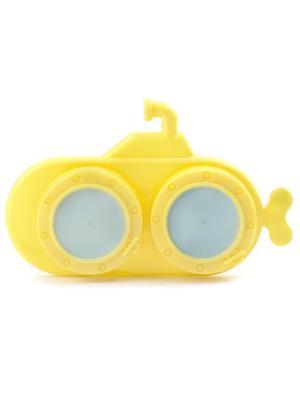 Футляр для контактных линз/YELLOW SUBMARINE Kikkerland. Цвет: желтый