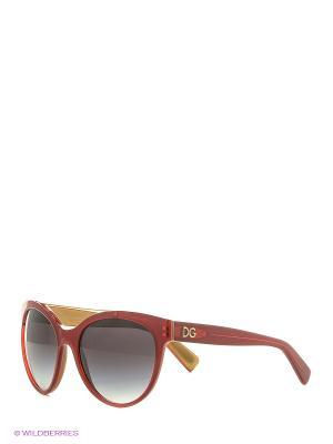 Солнцезащитные очки DOLCE & GABBANA. Цвет: белый