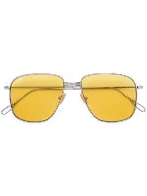 Солнцезащитные очки Helmut 4 Kyme. Цвет: металлический