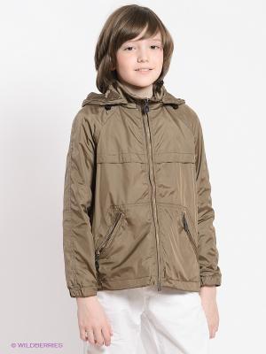 Куртка ODRI. Цвет: коричневый