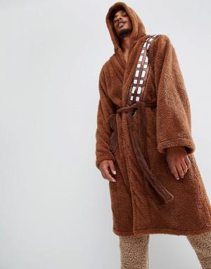 Robes Халат Star Wars Chewbaca. Цвет: коричневый