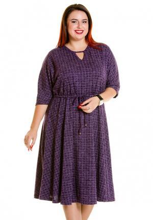 Платье Luxury Plus. Цвет: фиолетовый