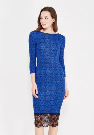 Платье Miss & Missis. Цвет: синий