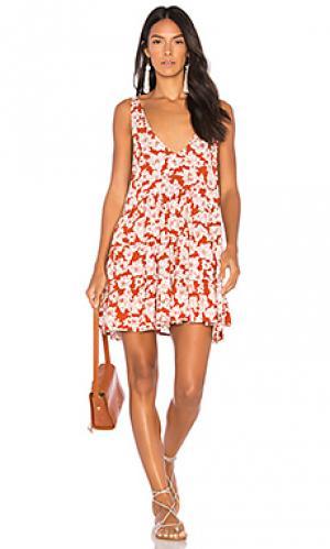 Платье havana Acacia Swimwear. Цвет: ржавый