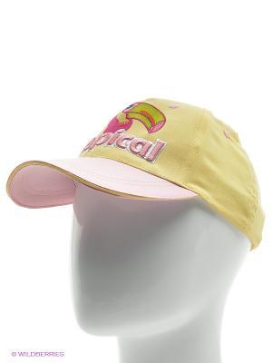 Бейсболка YO!. Цвет: желтый