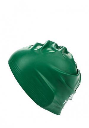 Шапочка для плавания TYR. Цвет: зеленый