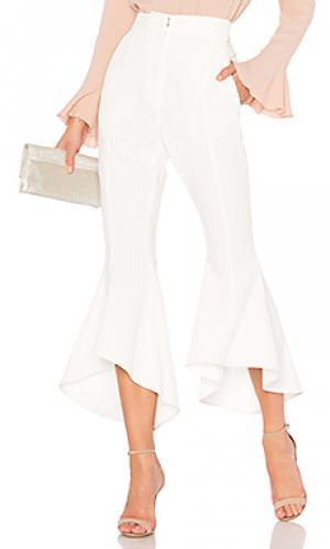 Расклешенные брюки st barts cropped Rebecca Vallance. Цвет: белый