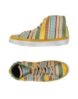 Высокие кеды и кроссовки 2STAR. Цвет: желтый