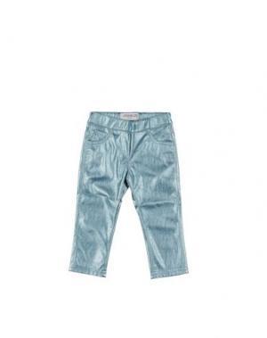 Повседневные брюки SIMONETTA MINI. Цвет: небесно-голубой