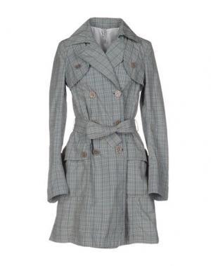 Легкое пальто J.W. TABACCHI. Цвет: серый