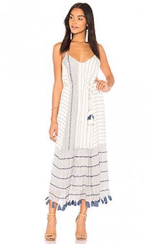 Платье frida SAYLOR. Цвет: белый