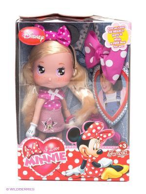 Кукла Минни Famosa. Цвет: красный, фуксия