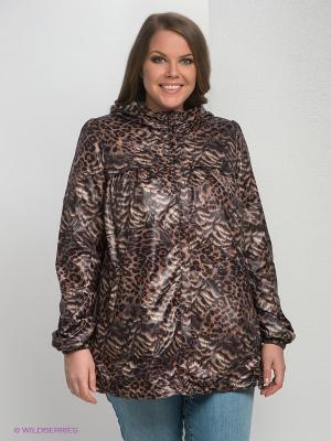 Куртка Modress. Цвет: коричневый, черный