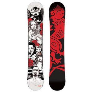 Сноуборд  Chikana Love 159 Black/Red/White Imperivm. Цвет: черный,красный,белый