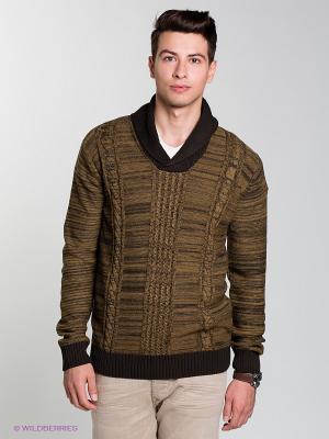 Пуловер SANTIAGO Salsa. Цвет: хаки
