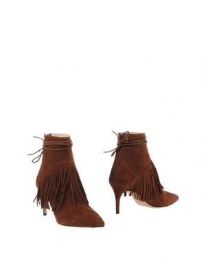Полусапоги и высокие ботинки BIONDA CASTANA. Цвет: коричневый