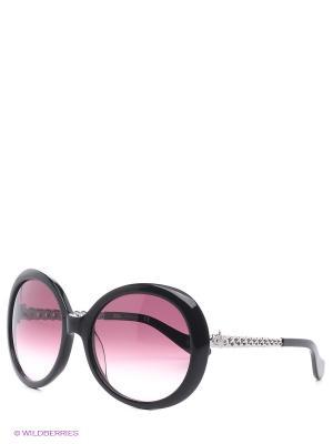 Солнцезащитные очки VW 793S 04 Vivienne Westwood. Цвет: черный