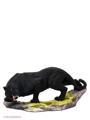 Статуэтка Пантера Veronese. Цвет: черный