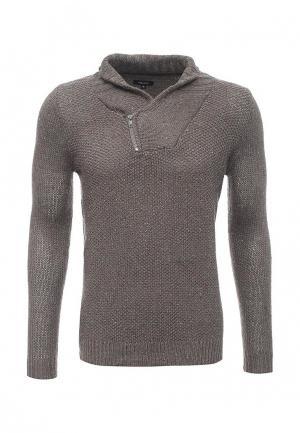 Пуловер Deblasio. Цвет: серый