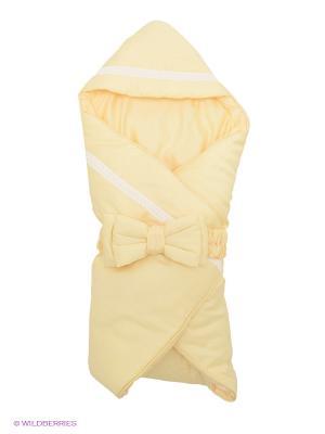 Одеяло-конверт Provence RETAGGIO. Цвет: желтый