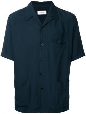 Lapel shirt Lemaire. Цвет: синий