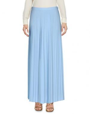 Длинная юбка SPACE STYLE CONCEPT. Цвет: небесно-голубой