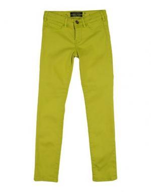 Повседневные брюки SCOTCH R'BELLE. Цвет: кислотно-зеленый