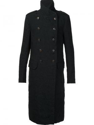 Пальто Adolfo Uma Wang. Цвет: чёрный