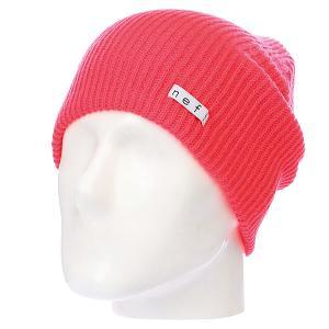 Шапка  Daily Neon Red Neff. Цвет: розовый