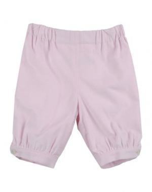 Повседневные брюки LA STUPENDERIA. Цвет: розовый