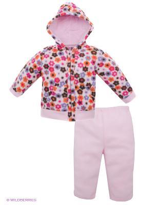 Комплект Hudson Baby. Цвет: бледно-розовый, фуксия, оранжевый