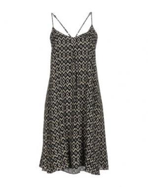 Платье до колена LA FEE MARABOUTEE. Цвет: темно-синий