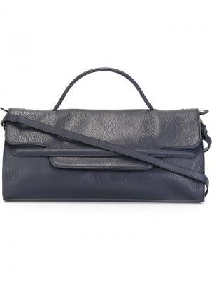 Средняя сумка Nina Zanellato. Цвет: синий