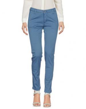 Повседневные брюки J-CUBE. Цвет: грифельно-синий