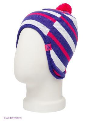 Шапка STRIPY PERUVIAN Adidas. Цвет: фиолетовый, розовый