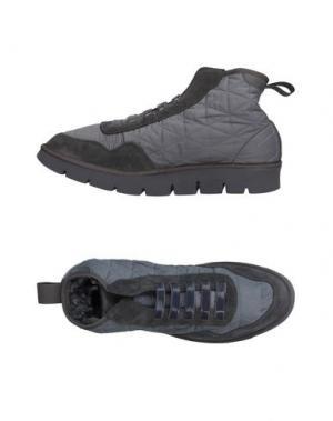 Высокие кеды и кроссовки PÀNCHIC. Цвет: серый
