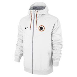 Мужская куртка A.S. Roma Authentic Windrunner Nike. Цвет: белый