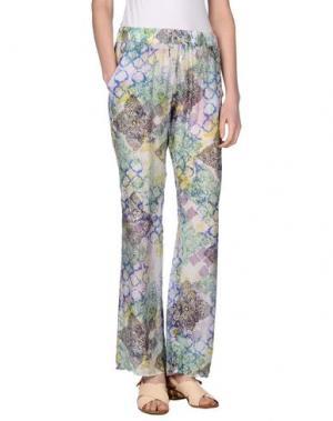 Повседневные брюки MOSAIQUE. Цвет: ярко-синий