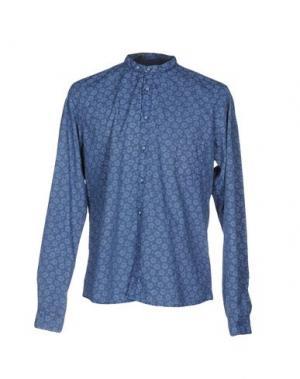 Pубашка JULIAN KEEN. Цвет: пастельно-синий