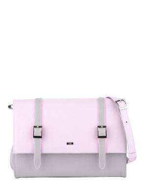 Сумка Esse. Цвет: розовый,белый