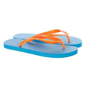 Шлепанцы  Mc Nbu E Orange/Blue Rip Curl. Цвет: голубой