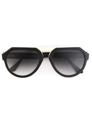 Солнцезащитные очки Elco Ralph Vaessen. Цвет: чёрный