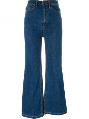 Расклешенные джинсы Marc Jacobs. Цвет: синий
