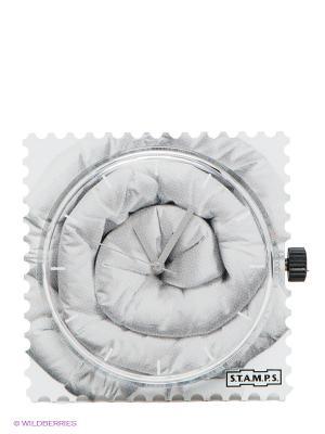 Часы S.T.A.M.P.S.. Цвет: светло-серый