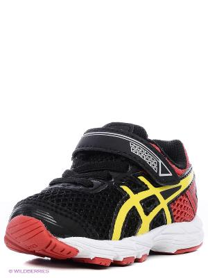 Кроссовки GT-1000 4 TS ASICS. Цвет: черный, желтый, красный