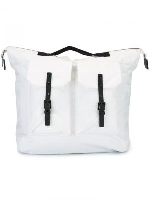 Большой рюкзак Frank Ally Capellino. Цвет: белый